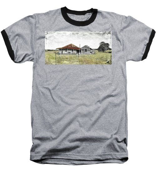 Home Sweet Home 001 Baseball T-Shirt by Kevin Chippindall