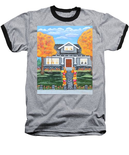 Home Sweet Home - Comes Autumn Baseball T-Shirt