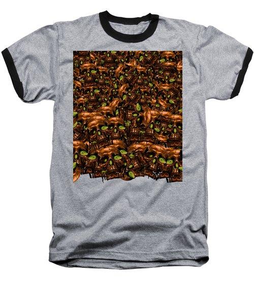Home Sweet Home Baseball T-Shirt by Laur Iduc