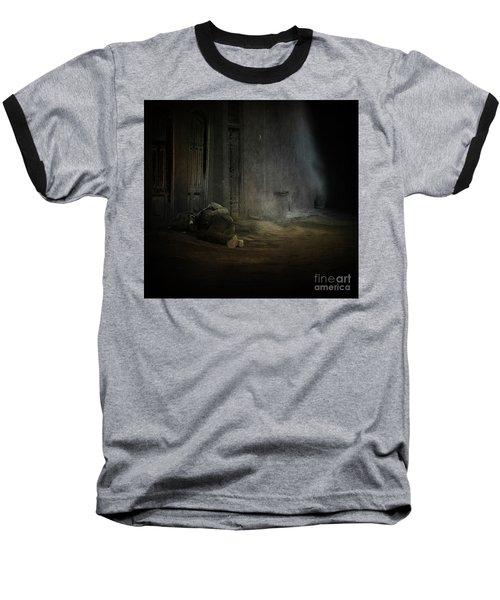 Homeless In China Baseball T-Shirt