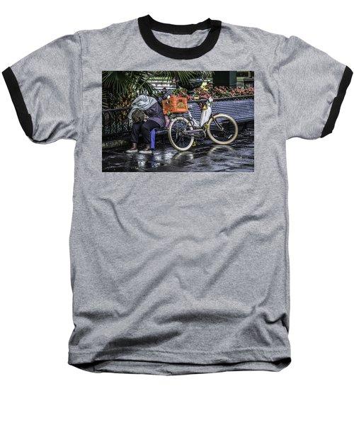 Homeless In New Orleans, Louisiana Baseball T-Shirt