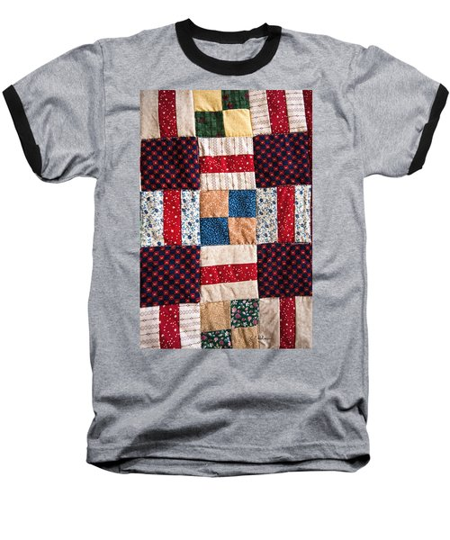 Homemade Quilt Baseball T-Shirt