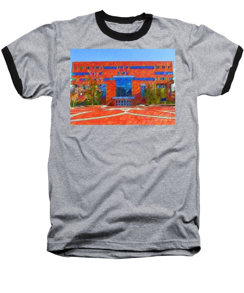 Homer Library Baseball T-Shirt