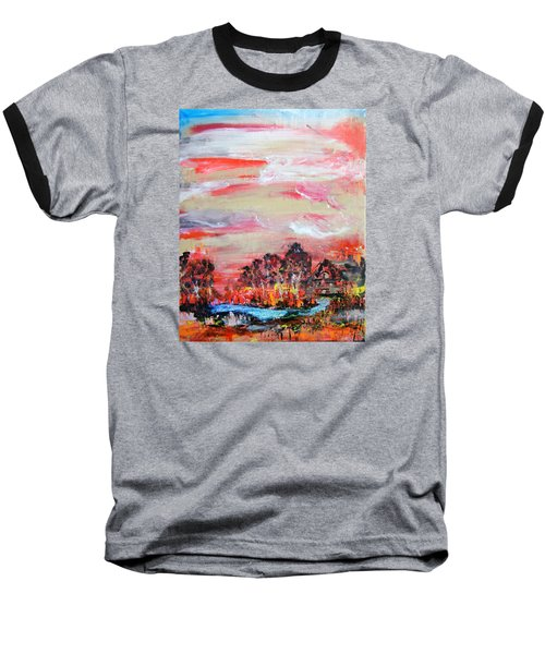 Homestead By Colleen Ranney Baseball T-Shirt