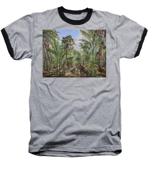 Homestead Tree Farm Baseball T-Shirt