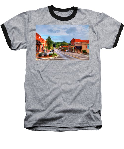 Hometown America Baseball T-Shirt by Dale R Carlson