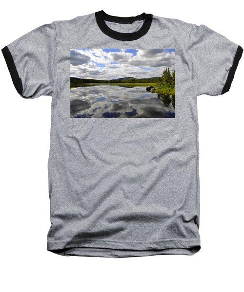 Hon Lake Baseball T-Shirt by Thomas M Pikolin