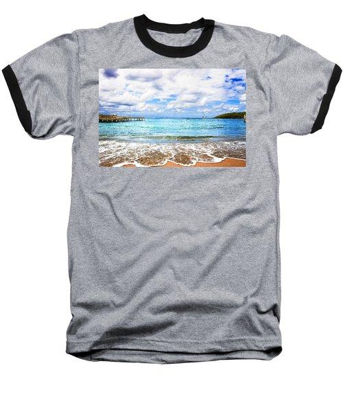 Honduras Beach Baseball T-Shirt