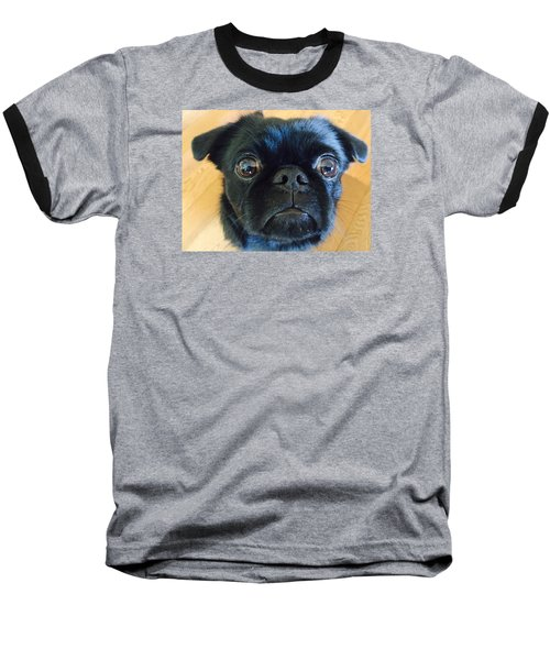 Baseball T-Shirt featuring the photograph Honestly by Paula Brown