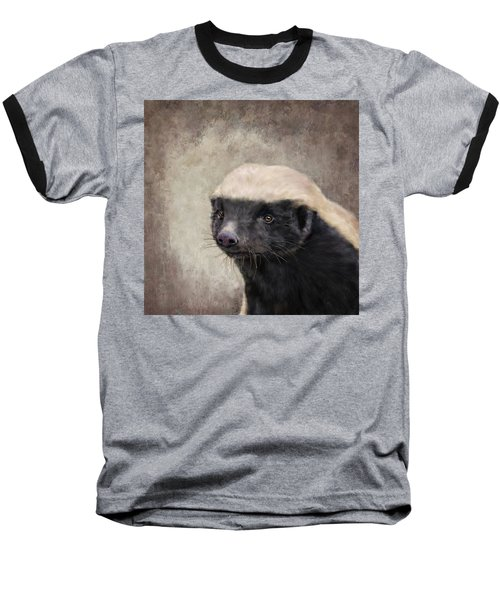 Honey Badger Baseball T-Shirt