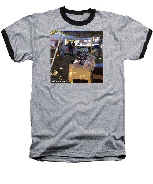 Honey Tent At Farmer's Market Baseball T-Shirt