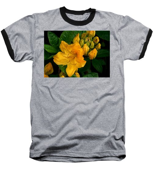 Honeysuckle Azalea Baseball T-Shirt