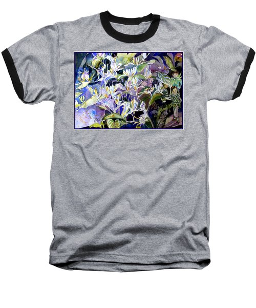 Honeysuckle Fairies Baseball T-Shirt