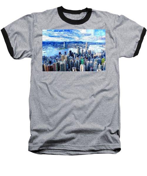 Hong Kong, China Baseball T-Shirt