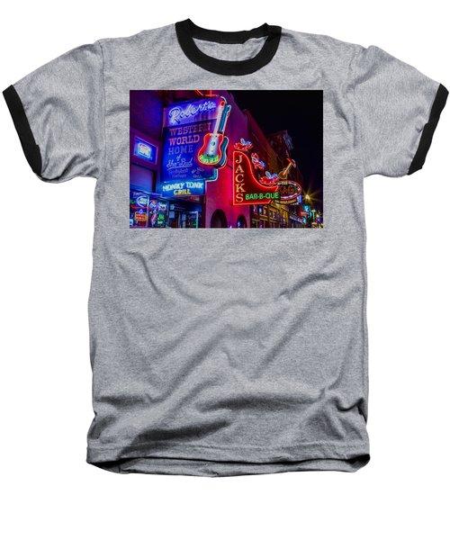 Honky Tonk Broadway Baseball T-Shirt