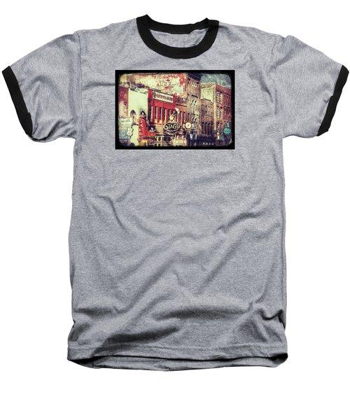 Honky Tonk Row - Nashville Baseball T-Shirt