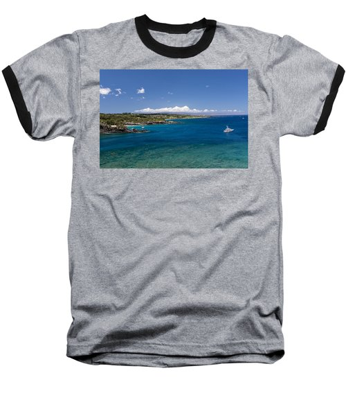 Baseball T-Shirt featuring the photograph Honolua Bay by Jim Thompson