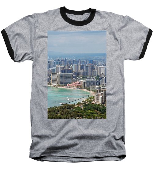 Honolulu Hawaii  Baseball T-Shirt