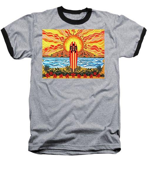 Honu Surf Baseball T-Shirt