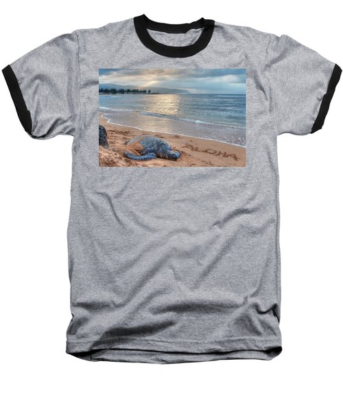 Honu Welcome Baseball T-Shirt