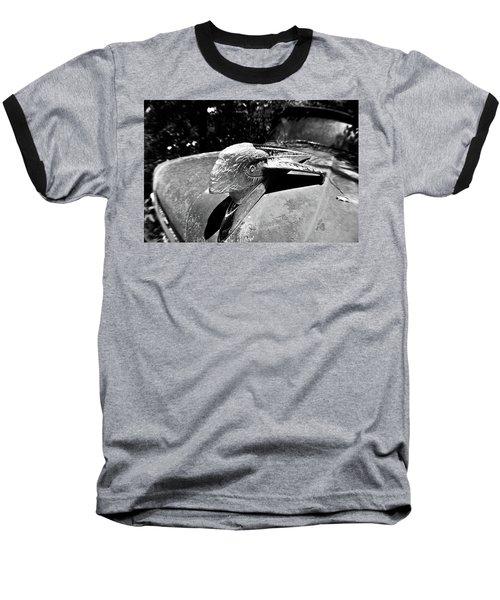Hood Ornament Detail Baseball T-Shirt