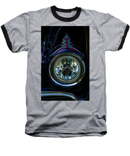 Baseball T-Shirt featuring the photograph Hood Wink 55 Lincoln by Trey Foerster