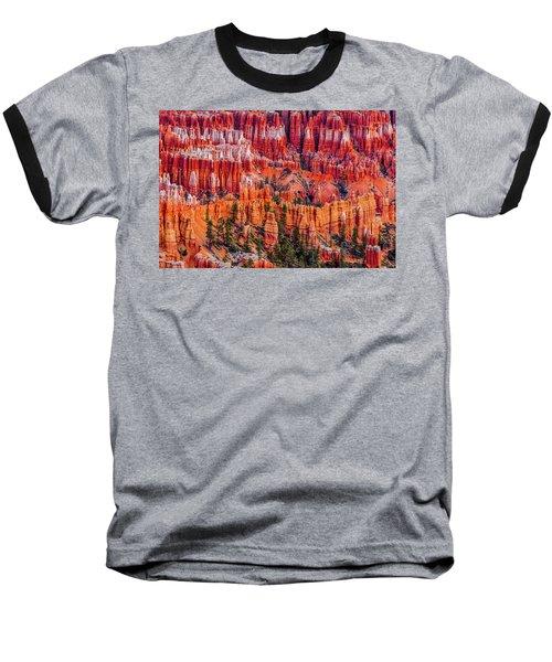Hoodoo Forest Baseball T-Shirt by David Cote