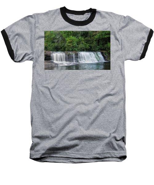 Hooker Falls Baseball T-Shirt by Steven Richardson