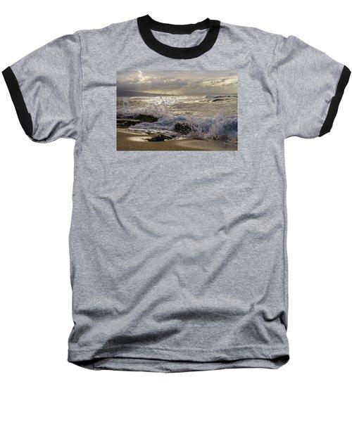 Baseball T-Shirt featuring the photograph Ho'okipa Beach Maui by Janis Knight