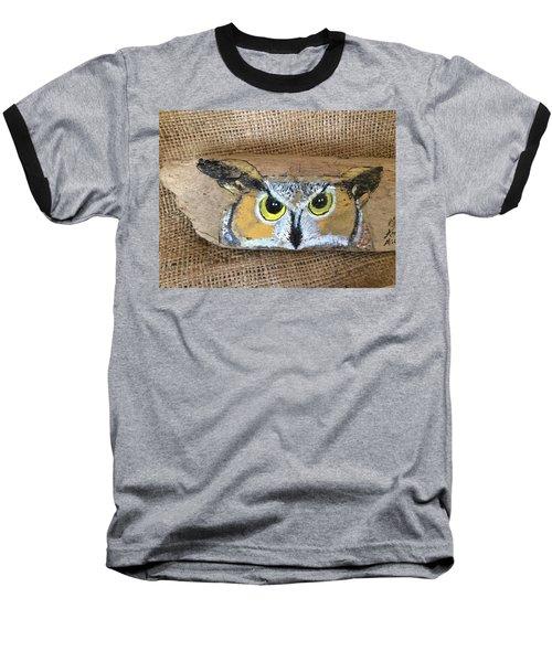 Hoot Owl Baseball T-Shirt