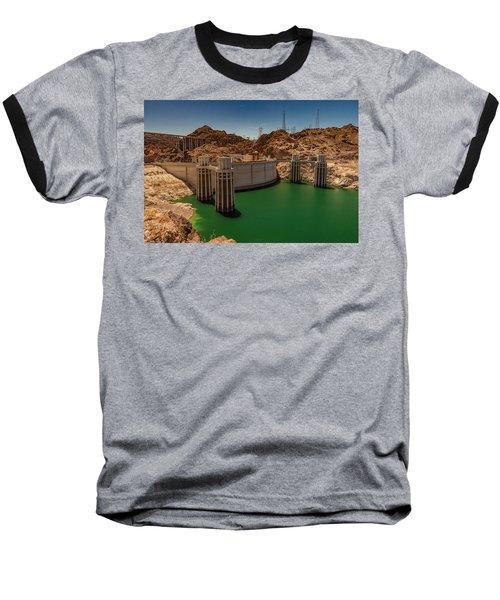 Hoover Dam Baseball T-Shirt by Ed Clark