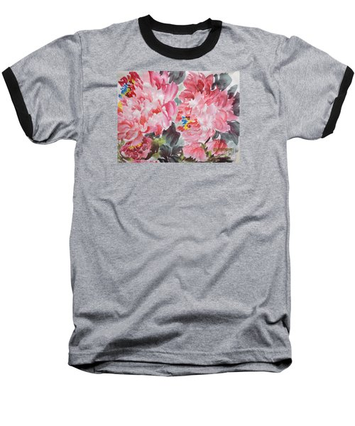 Baseball T-Shirt featuring the painting Hop08012015-694 by Dongling Sun