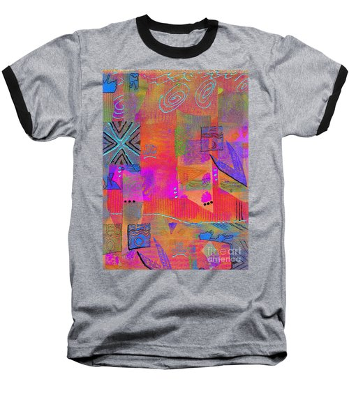 Baseball T-Shirt featuring the mixed media Hope And Dreams by Angela L Walker