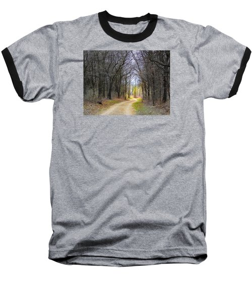 Hope In A Dark Forest Baseball T-Shirt