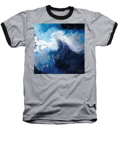 Hope In The Lord. Psalm 31 24 Baseball T-Shirt by Mark Lawrence