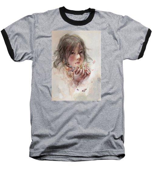 Baseball T-Shirt featuring the digital art Hope by Te Hu