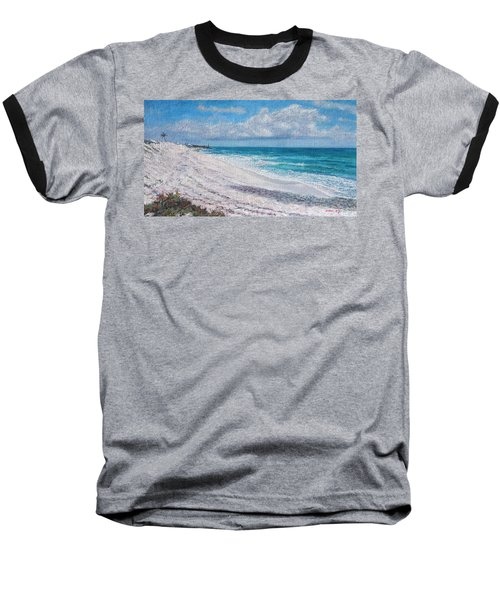 Hope Town Beach Baseball T-Shirt