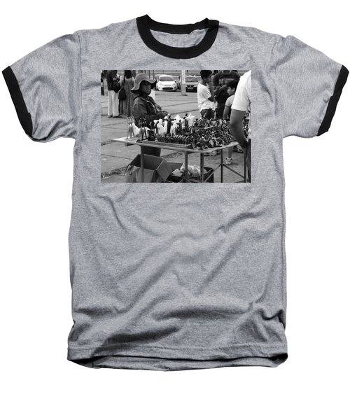 Baseball T-Shirt featuring the photograph Hopes by Beto Machado