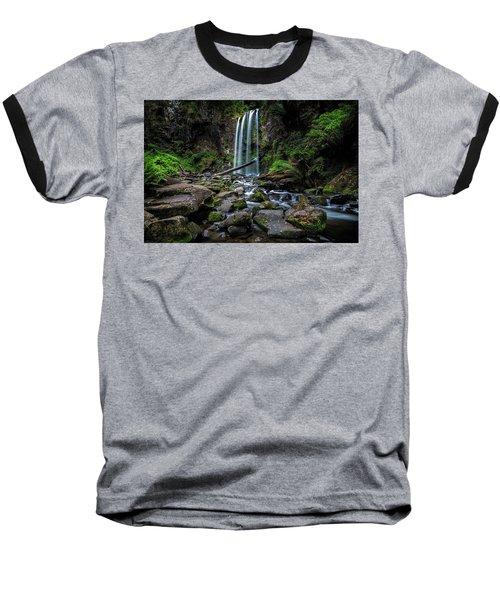 Hopetoun Falls Baseball T-Shirt by Mark Lucey