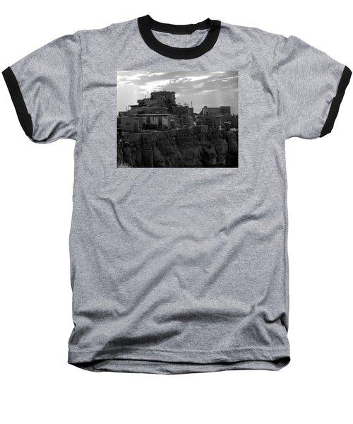 Hopi First Mesa 2 Baseball T-Shirt