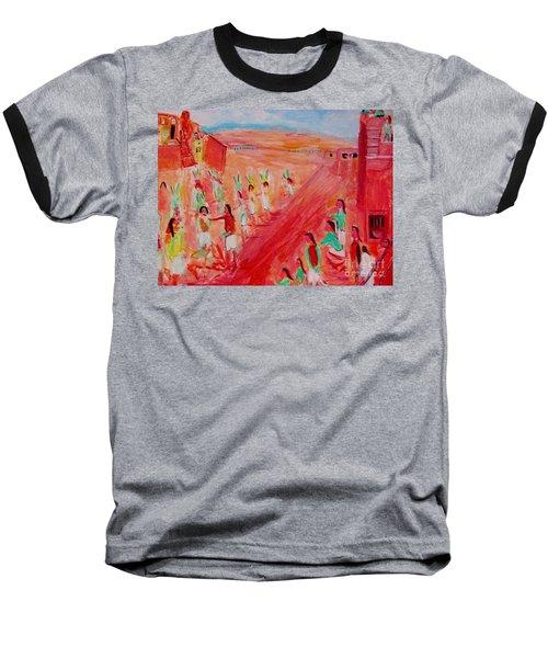 Hopi Indian Ritual Baseball T-Shirt