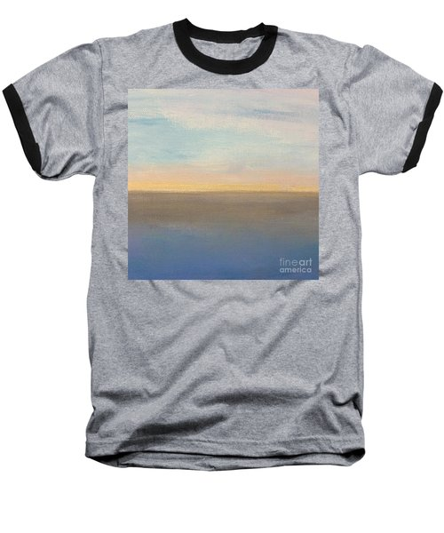 Baseball T-Shirt featuring the painting Horizon Aglow by Kim Nelson