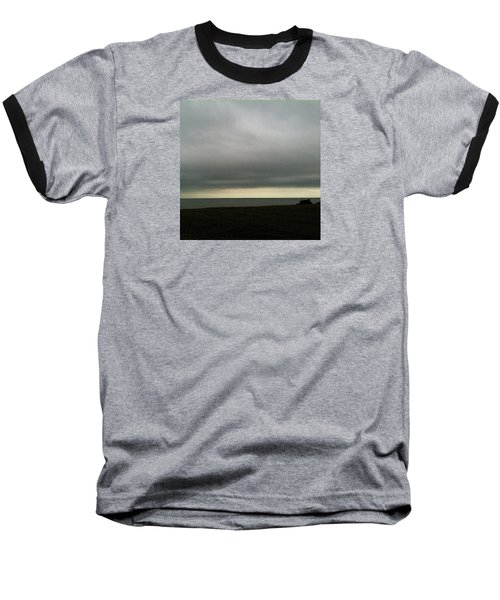 Horizon Light Baseball T-Shirt by Anne Kotan