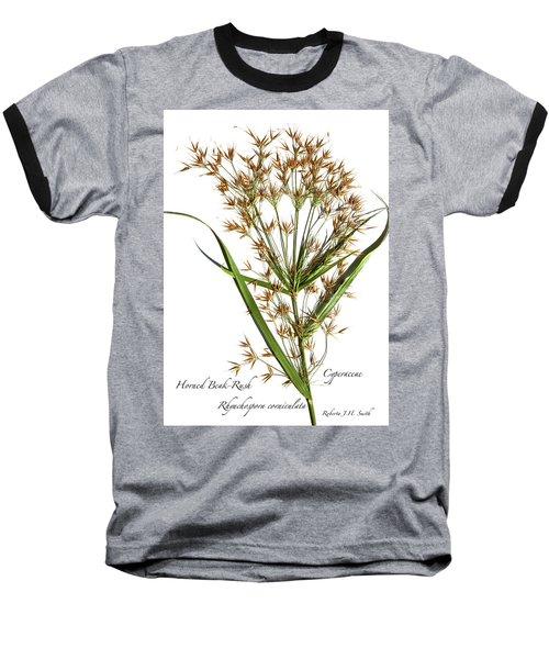Horned Beak-rush Baseball T-Shirt