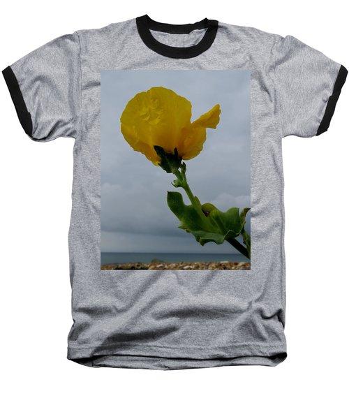 Horned Poppy Baseball T-Shirt