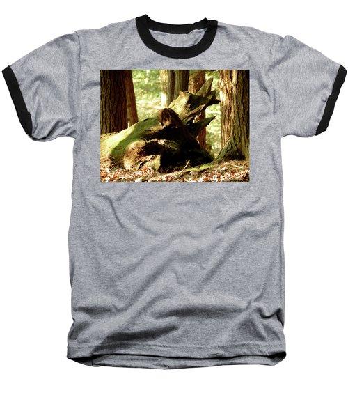 Horned Tree Baseball T-Shirt