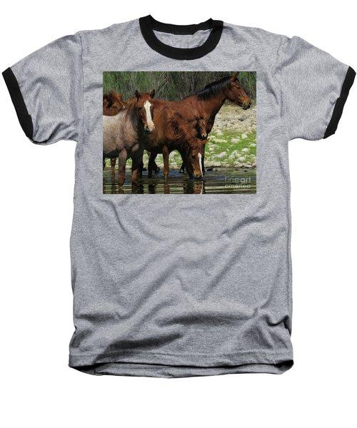Horse 7 Baseball T-Shirt