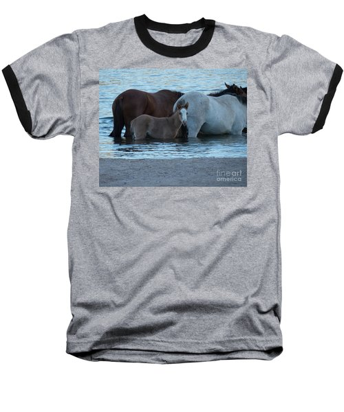 Horse 9 Baseball T-Shirt