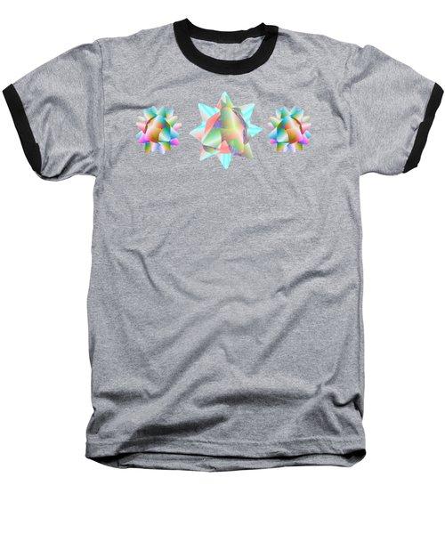 Horse Abstract Ribbon Bow Party Series Baseball T-Shirt