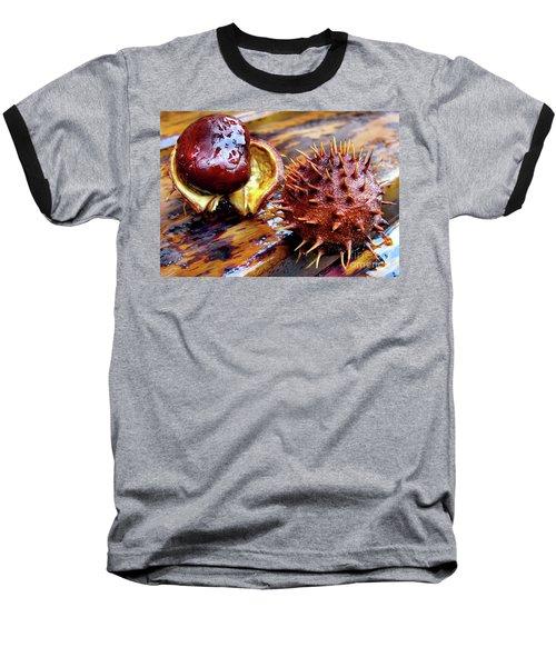 Horse Chestnut Aesculus Baseball T-Shirt